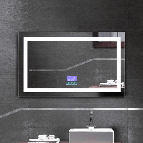Led Bluetooth Bathroom Mirror, Bathroom Mirror With Led Lights And Bluetooth