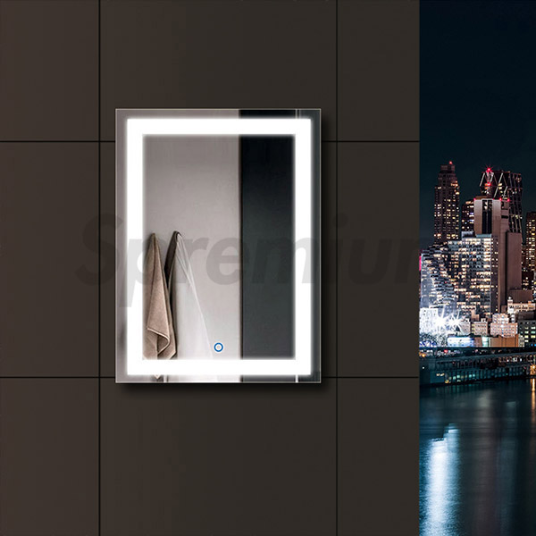 S-4606 LED Bathroom Mirror with Lights Built In