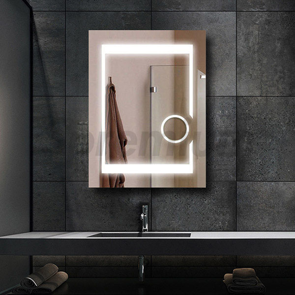 Led Bathroom Magnifying Mirror Wall Mounted Light Up