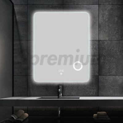 S-3603 Round Edge Led Wall Magnifying Mirror Bathroom with Touch Switch On and Off