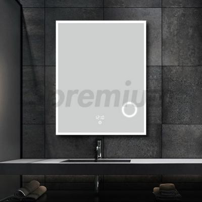 S-3608 Frameless Led Bathroom Mirror with Magnifier