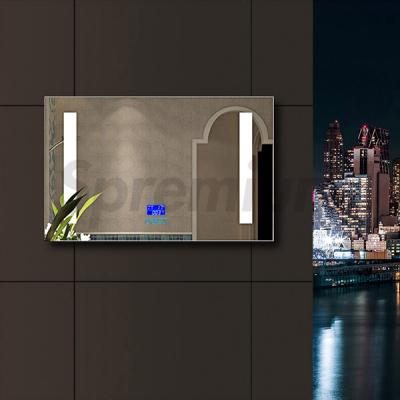 S-2607 Big Bathroom Mirror with Led lights and Bluetooth