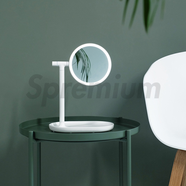 S-1100 Contemporary Rechargeable Led Makeup Mirror with Magnifier-copy-1586324795