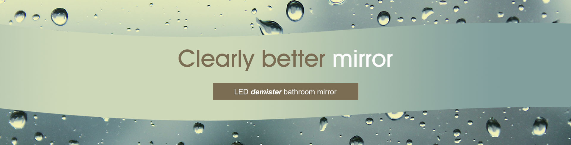 LED Demister Mirror