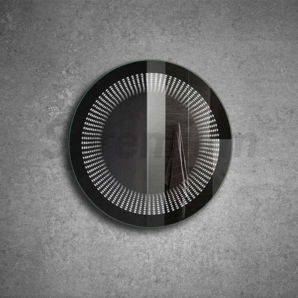 S-2100 Magic Led Infinity Round Wall Mirror