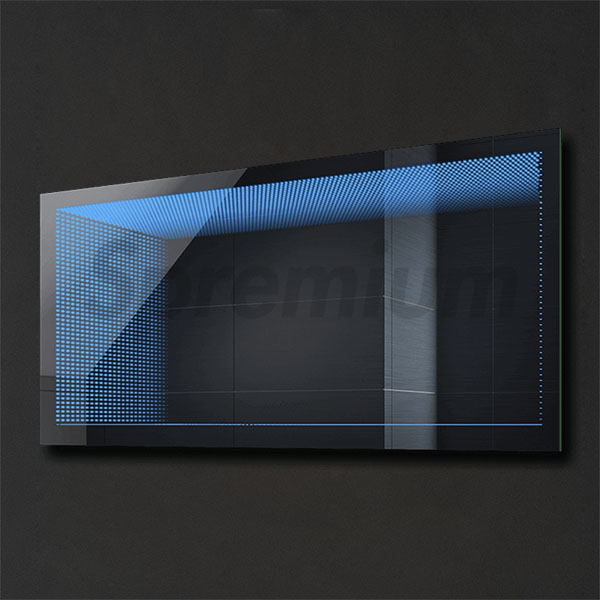 S-2102 Rectangular Bathroom Large Infinity Mirror