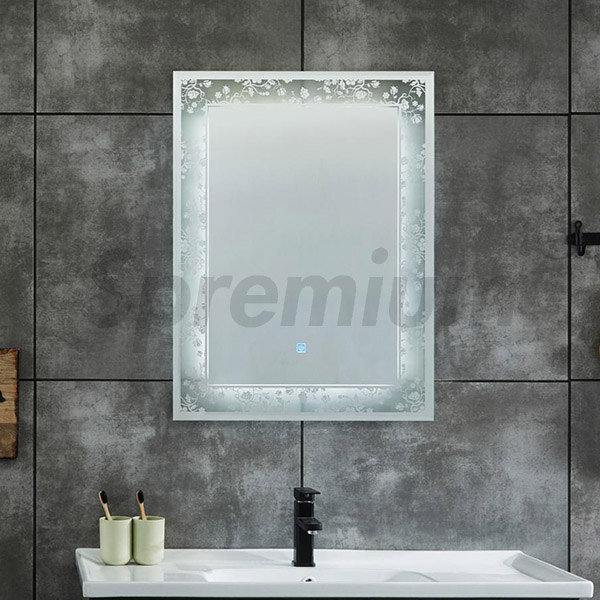 S-4615 Designer Bathroom Mirror with LED Lights