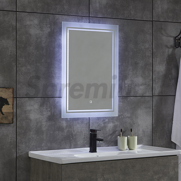 S 4617 Led Bathroom Wall Mirror With