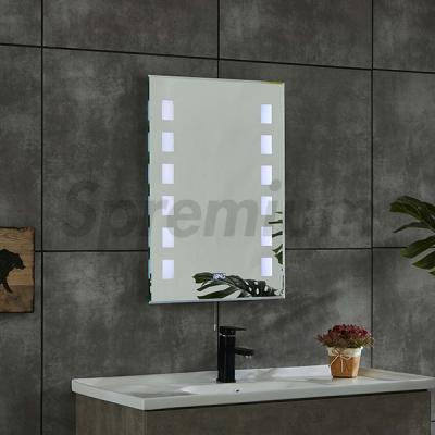 S-4625 Modern Rectangular Bathroom Wall Mirror with Built in Lights