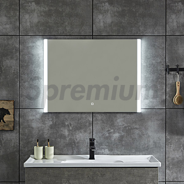 S-4636 Wall Mounted Illuminated Bathroom Mirror