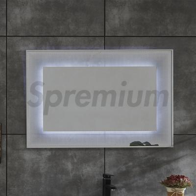 S-4644 Touch Free Rectangular Wall Vanity Mirror With LED Lights-copy-1582275169