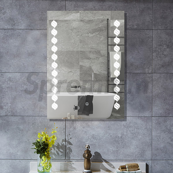 S-4629 LED Illuminated Bathroom Mirror 600 x 800