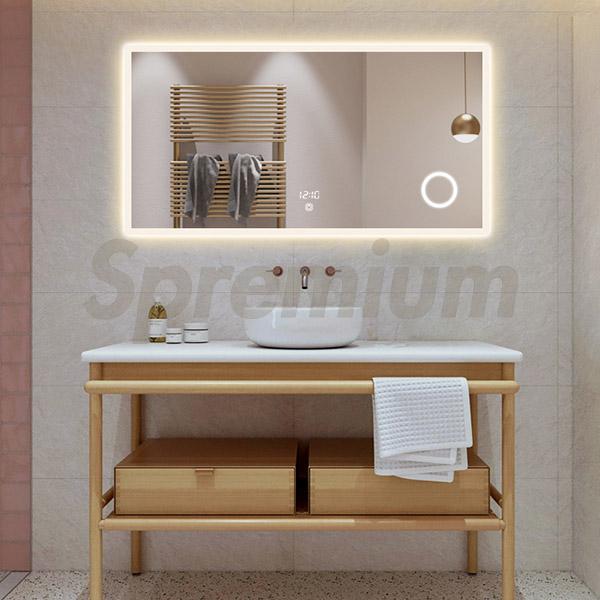 S 3615 Led Lighted Illuminated Bathroom Vanity Mirror Wholesale Manufacturer