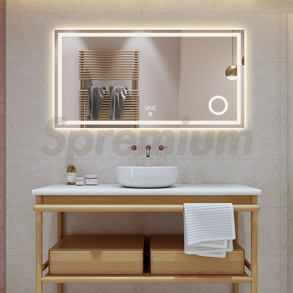 S-3614 48 Inch Wide Framed Bathroom Mirror | Wholesale ...