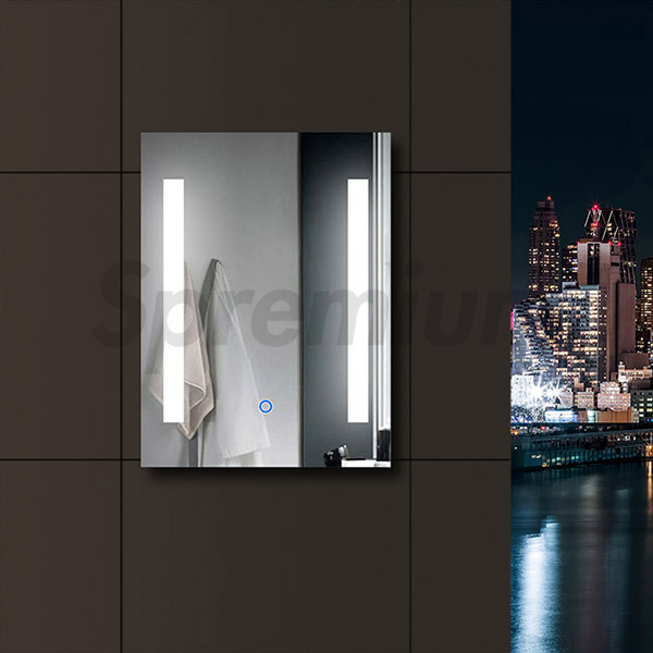 S-4607 LED Backlit Mirror for Bathroom