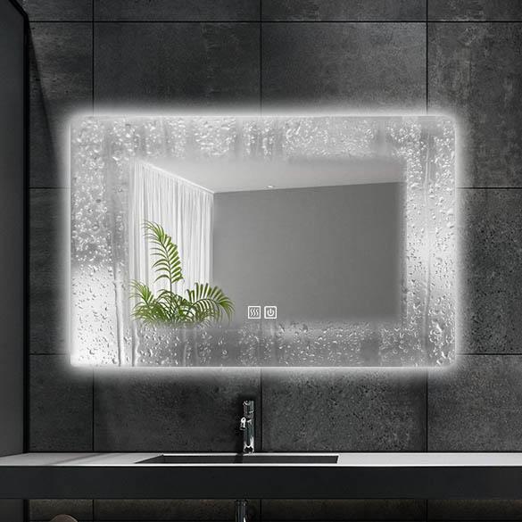 Led Bathroom Mirror Led Backlit Bathroom Mirror Design And Manufacturer Spremium