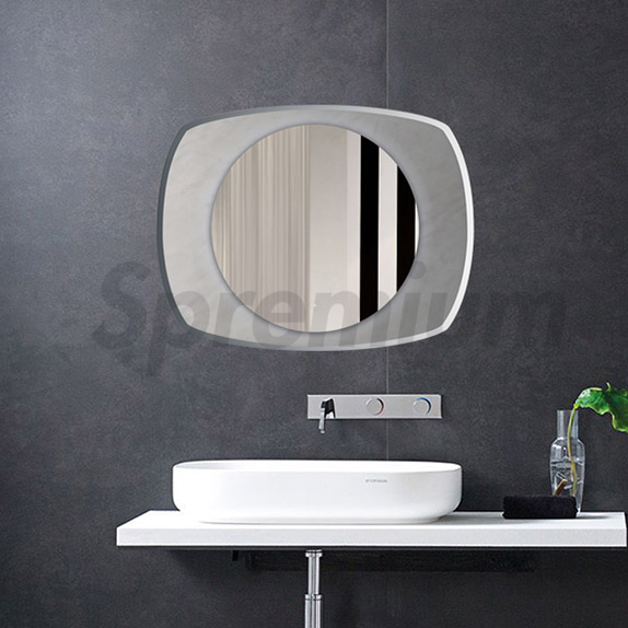 S-4588 Frameless Bathroom LED Mirror Wall Mounted